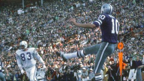 Fallece Ron Widby, pateador de Cowboys campeones