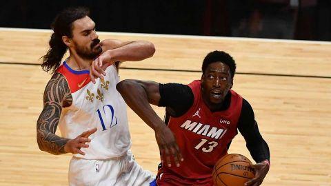 Heat da cuenta de los Pelicans