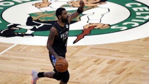 Irving anota 37; Nets vapulean a Celtics