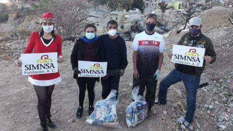 Fundación Simnsa y Agencia Estilo Tijuana apoyan a la comunidad