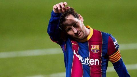 Messi se ausenta del entrenamiento; no jugará ante el Eibar