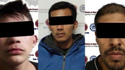 Tres tras las rejas por crimen organizado, homicidio y tentativa de homicidio