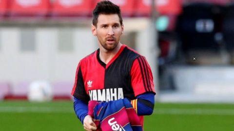 Messi y su dolida reacción al enterarse de la muerte de Maradona