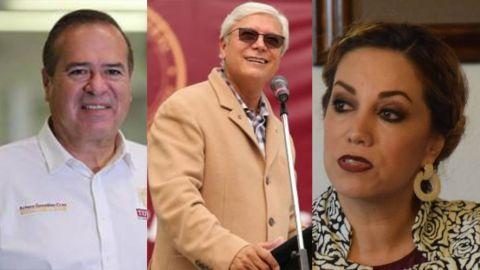 Se reúne Bonilla con Arturo González y Zulema Adams