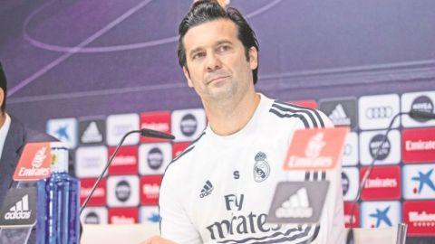 ¿Qué hizo Santiago Solari como DT en el Real Madrid?