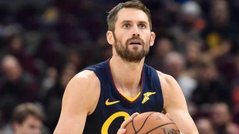 Kevin Love de los Cleveland Cavaliers estará fuera 3-4 semanas por lesión