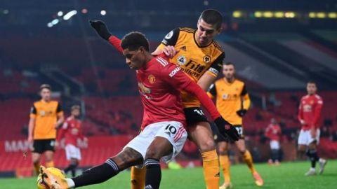 Marcus Rashford pone al Manchester United segundo
