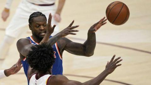 Knicks vencen a Cavs, logran su segundo triunfo consecutivo