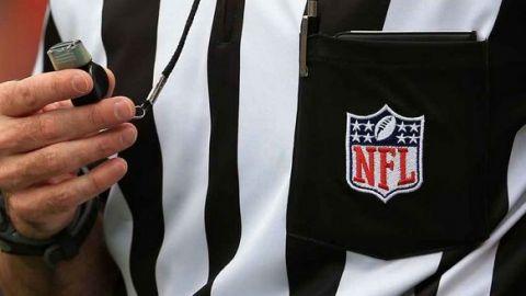 NFL usará plan de contingencia de árbitros en la Semana 17