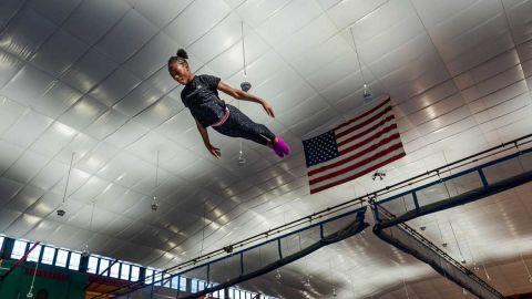 El reto de una joven gimnasta para seguir persiguiendo su sueño en 2020