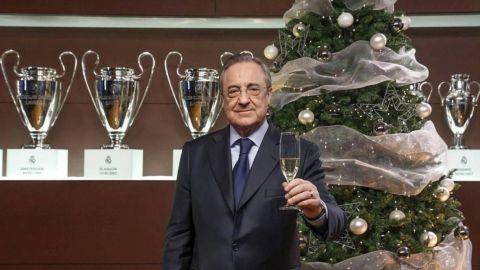Florentino Pérez manda emotivo mensaje por el Año Nuevo