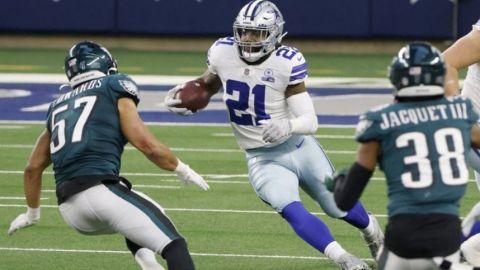Elliot, Cowboys aún con esperanzas de alcanzar los playoffs