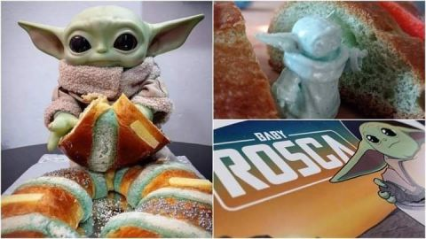 Reemplazan al Niño Dios con Baby Yoda