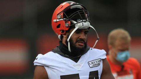 Otra baja sensible para Browns ante Steelers en postemporada