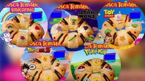 Metamorfosis de la rosca de Reyes; desde 'Baby Yoda' a 'Pokémon'