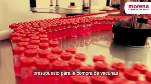 Morena no retirará spot de vacunas anti COVID: INE