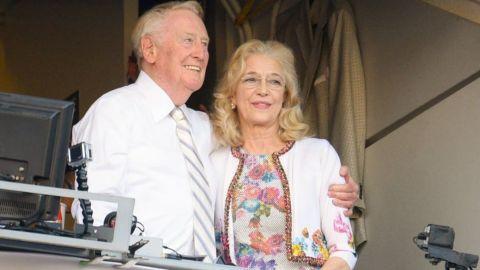 Falleció Sandra, la esposa de Vin Scully