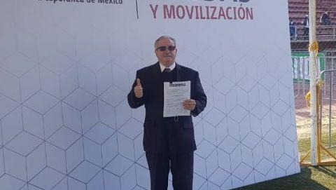 Carlos Murguía precandidato de MORENA a diputado federal del V Distrito