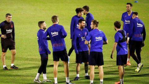 Futbolistas del Barça dan negativo de COVID-19 tras dos casos entre técnicos