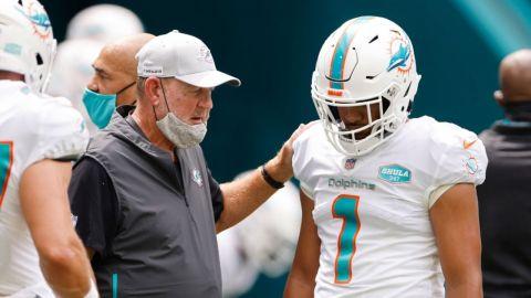 Chan Gailey renuncia como coordinador ofensivo de Dolphins