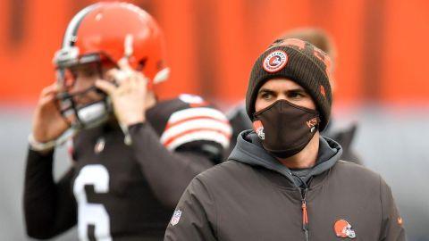Browns buscan que ausencia de Kevin Stefanski no afecte ante Steelers