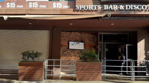 Bares disfrazados de restaurantes en Tijuana, cerrados
