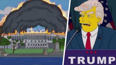 ¿Los Simpson predijeron la toma del Capitolio de Estados Unidos?