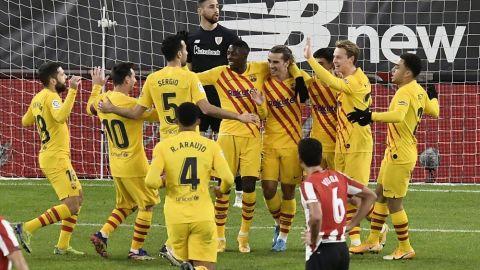 Conexión Pedri-Messi resucita ilusión de título en Barcelona