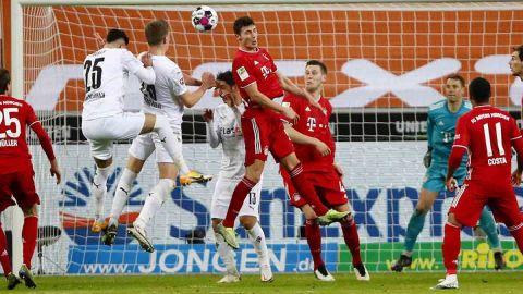 Mönchengladbach remonta ante el Bayern Múnich