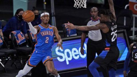 Thunder corta racha de 3 victorias de Knicks