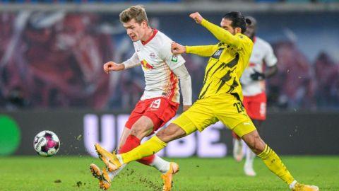 Leipzig pierde oportunidad de ser líder en la Bundesliga
