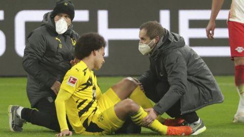 Witsel corre riesgo de perderse Eurocopa tras lesión