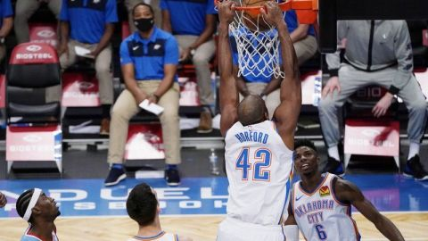 Thunder derrota a Nets en su tercer triunfo seguido