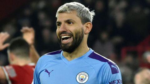 Agüero estará fuera de acción en el Manchester City por hasta 10 días