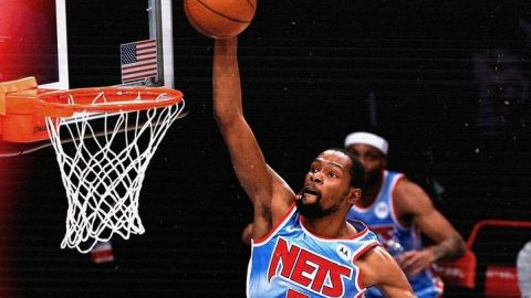 Durant anota 34; Nets remontan y vencen a Nuggets