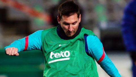 Messi no juega la Semifinal de la Supercopa de España