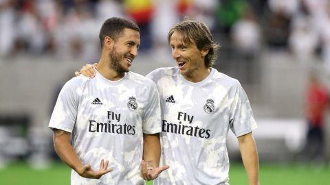 """Modric: """"Hazard demostrará el gran jugador que es"""""""