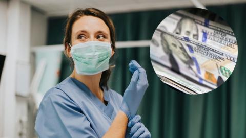 Enfermera de área COVID en EU gana un millón de dólares en Lotería