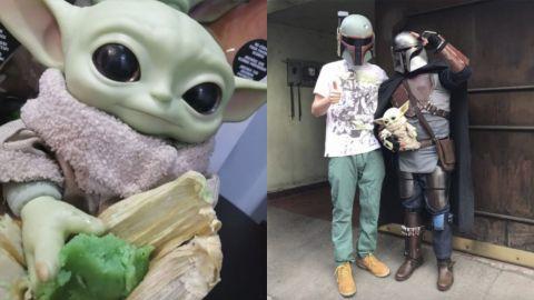 Lanzan los tamales de 'Baby Yoda'