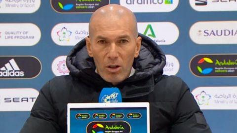 El remedio tras eliminación es seguir trabajando: Zidane