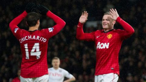La emotiva despedida de 'Chicharito' Hernández a Wayne Rooney