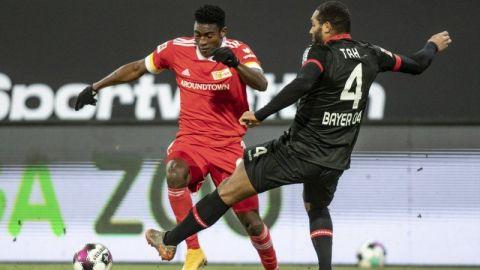 Union de Berlín supera a Leverkusen y trepa al cuarto sitio