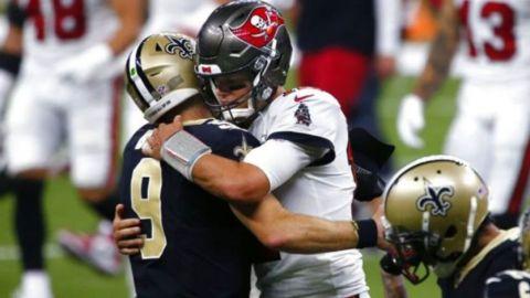 Brees enfrenta su destino al toparse con Tom Brady