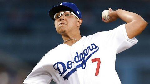 Dodgers le aumenta el sueldo a Julio Urías