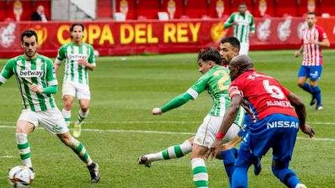 Con Lainez y Guardado, Betis avanza en la Copa del Rey tras vencer al Sporting