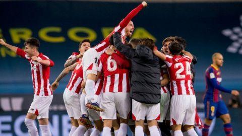 Un espectacular gol de Iñaki Williams da la Supercopa al Athletic