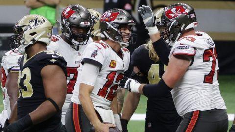 ¡Tom Brady a un paso de llegar a otro Super Bowl! Buccaneers eliminan a Saints