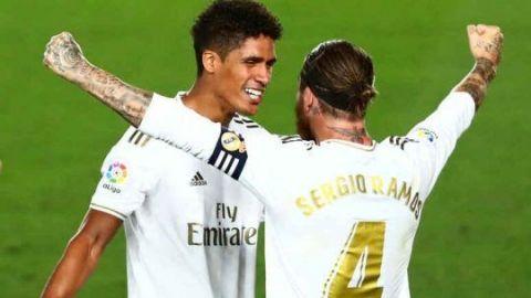 Ramos y Varane, ausentes en la vuelta al trabajo