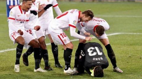 Yassine Bono es el héroe del Sevilla para ganar