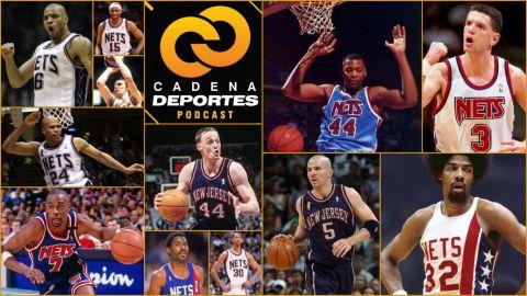 CADENA DEPORTES PODCAST: Nets y sus contados grandes jugadores